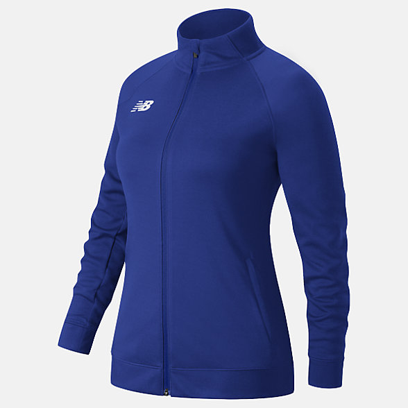 New Balance Knit Training Jacket, TMWJ720TRY