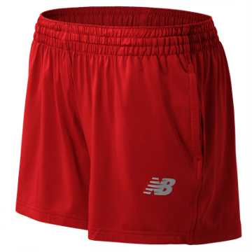New Balance NB Tech Short, Team Red