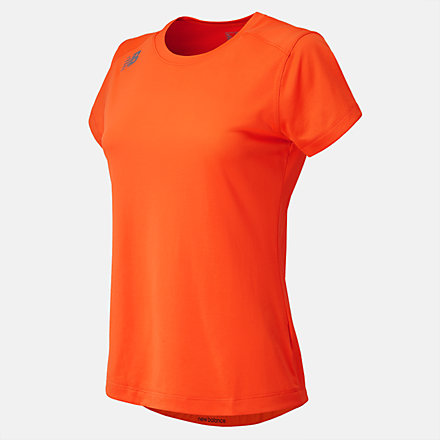 New Balance NB Short Sleeve Tech Tee, TMWT500TMO image number null