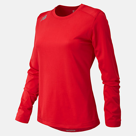 New Balance NB Long Sleeve Tech Tee, TMWT501TRE image number null