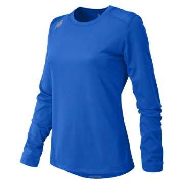 New Balance NB Long Sleeve Tech Tee, Team Royal