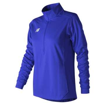 New Balance Lightweight Solid Half Zip, Team Royal