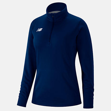 New Balance Womens Thermal Half Zip, TMWT725TNV image number null