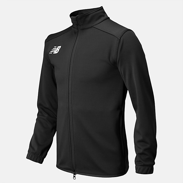 New Balance Jr NB Knit Training Jacket, TMYJ599BK
