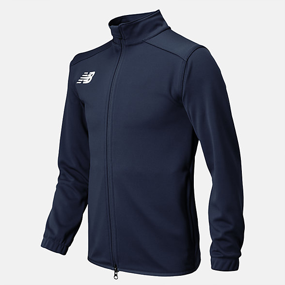 New Balance Jr NB Knit Training Jacket, TMYJ599NV