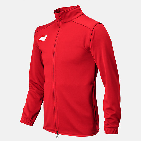 New Balance Jr NB Knit Training Jacket, TMYJ599RD