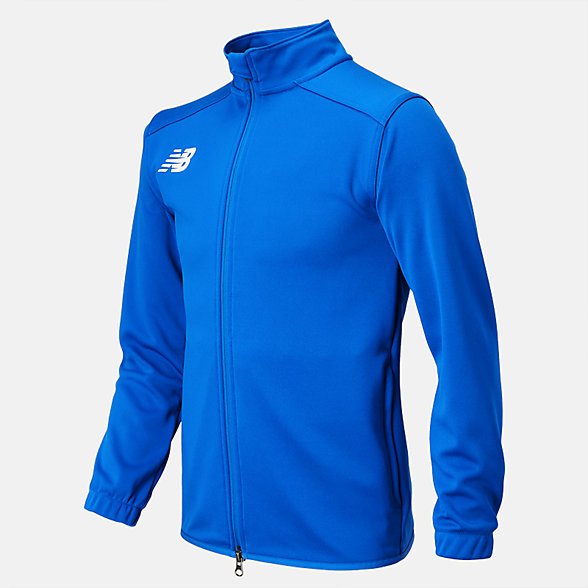 New Balance Jr NB Knit Training Jacket, TMYJ599RL