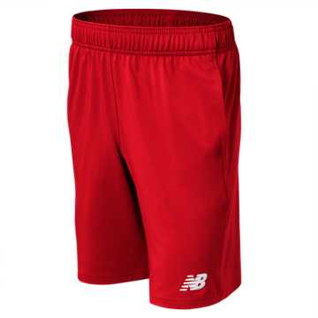 New Balance Jr NB Tech Short, Team Red