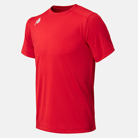 New Balance Jr NB SS Tech Tee, TMYT500RD
