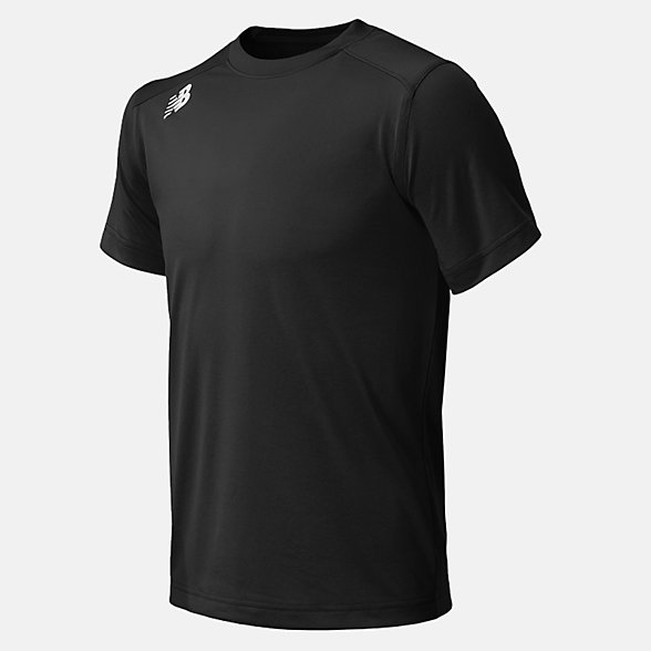 New Balance Jr NB SS Tech Tee, TMYT500TBK
