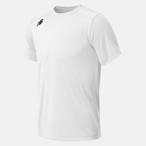 New Balance Jr NB SS Tech Tee, TMYT500WT