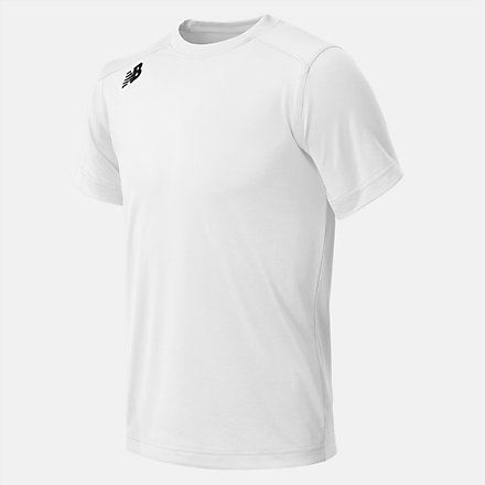 New Balance Jr NB SS Tech Tee, TMYT500WT image number null