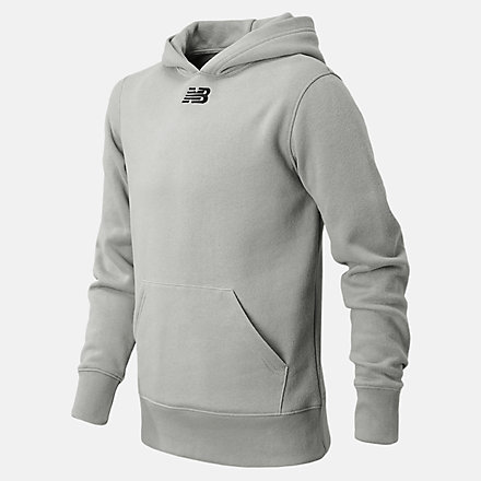 New Balance NBY Fleece Hoody, TMYT502ALY image number null