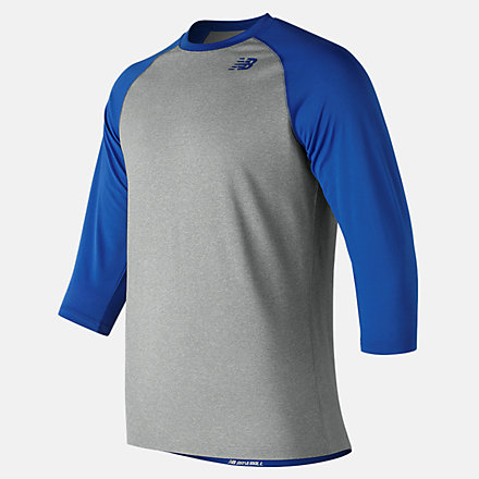 New Balance Youth 3 Qtr Raglan, TMYT601TRY image number null