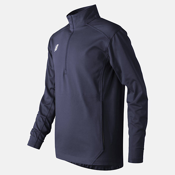 New Balance Jr Solid Half Zip, TMYT710TNV