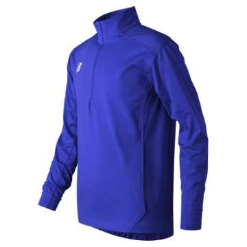 New Balance Jr Solid Half Zip, Team Royal