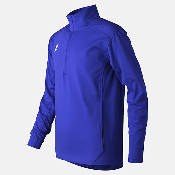 New Balance Jr Solid Half Zip, TMYT710TRY