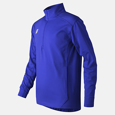 New Balance Jr Solid Half Zip, TMYT710TRY image number null