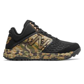 New Balance Fresh Foam 3000v4 Turf Memorial Day, Black with Camo Green