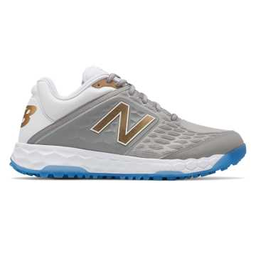 New Balance Fresh Foam 3000v4 ¡Vámonos! Playoff Pack, Silver with White