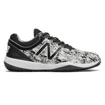 New Balance 4040v5 Pedroia, Black Camo with White
