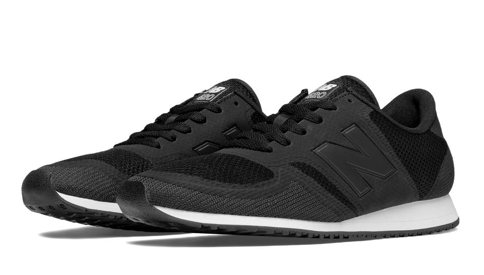 new balance 70s running 420 trainers in black mrl420br
