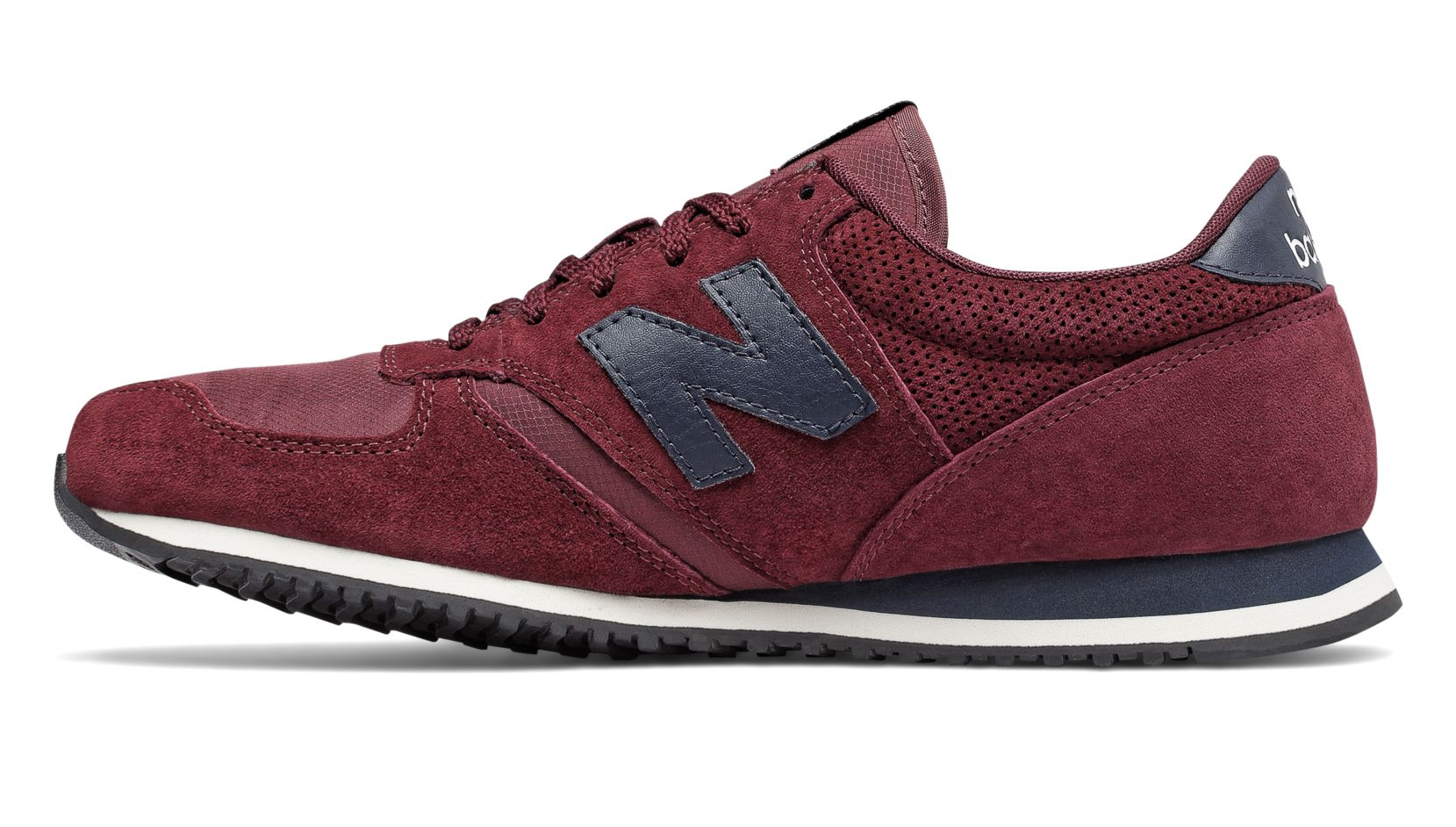 new balance 420 burgundy with navy