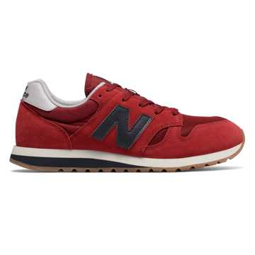New Balance 520, Scarlet with Outerspace