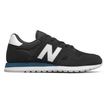 New Balance 520, Black with White