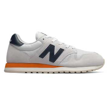 New Balance 520, Arctic Fox with Vintage Orange