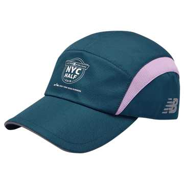 New Balance NYC Half 5 Panel Hat, North Sea