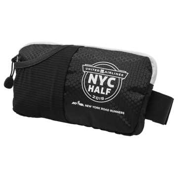 New Balance NYC Half Waistpack, Black
