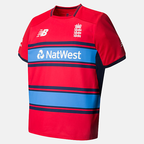 New Balance Replica Short Sleeve Tee T20 Junior, CJT7045CR