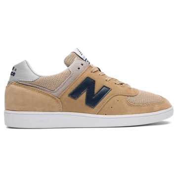 New Balance 576 Made in UK, Beige with Navy