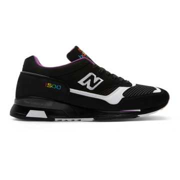 New Balance 1500 Made in UK, Black with White