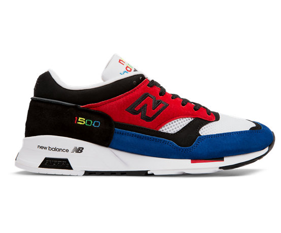 buy popular df838 1e781 NB Color Prisma Made in UK 1500, Red with Black   Blue