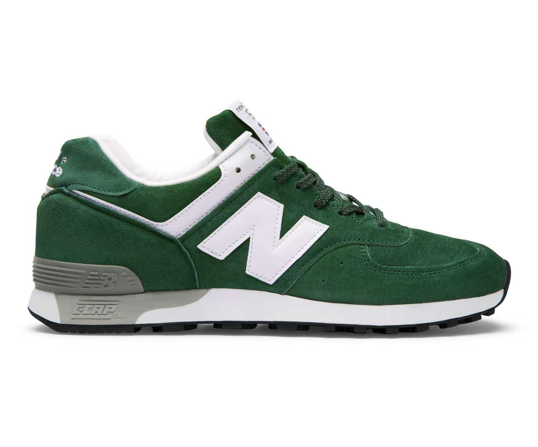 NB Made in UK 576 Colour Circle, Green with White