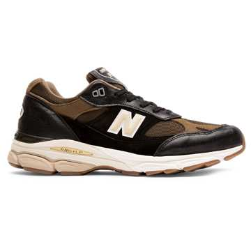 New Balance 991.9 Made in UK, Black with Olive