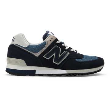 New Balance 576 Made in UK, Navy with Grey