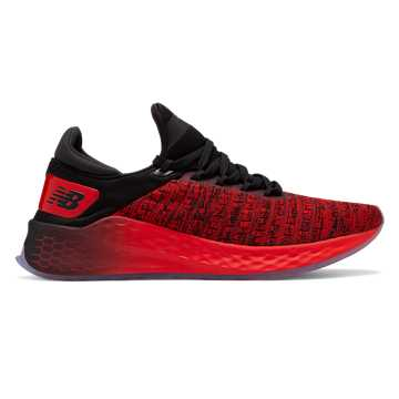 New Balance Fresh Foam Lazr v2 Lite Shift, Red with Black