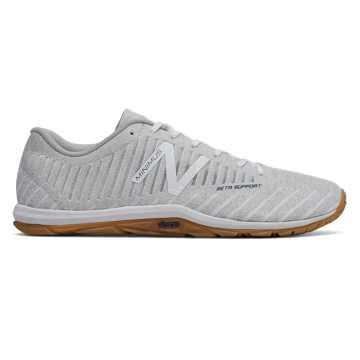New Balance X20系列 男款 简约时尚 轻便透气, 浅灰色