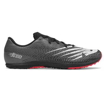 New Balance XC Seven Spikeless, Black with White