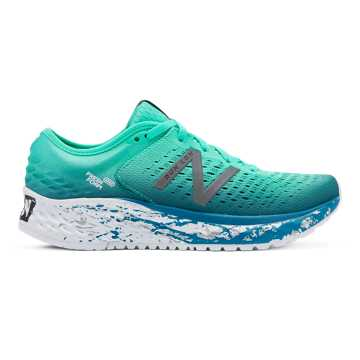 New Balance Fresh Foam 1080v9 London Edition, Neon Emerald with Dark Neptune