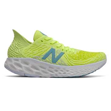 New Balance Fresh Foam 1080v10, Lemon Slush with Sulphur Yellow & Bali Blue