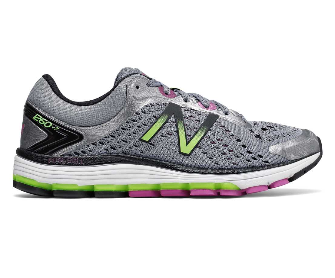 New Balance 1260v7, Steel with Poisonberry