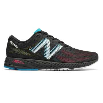 New Balance 1400v6, Black with Pink Zing
