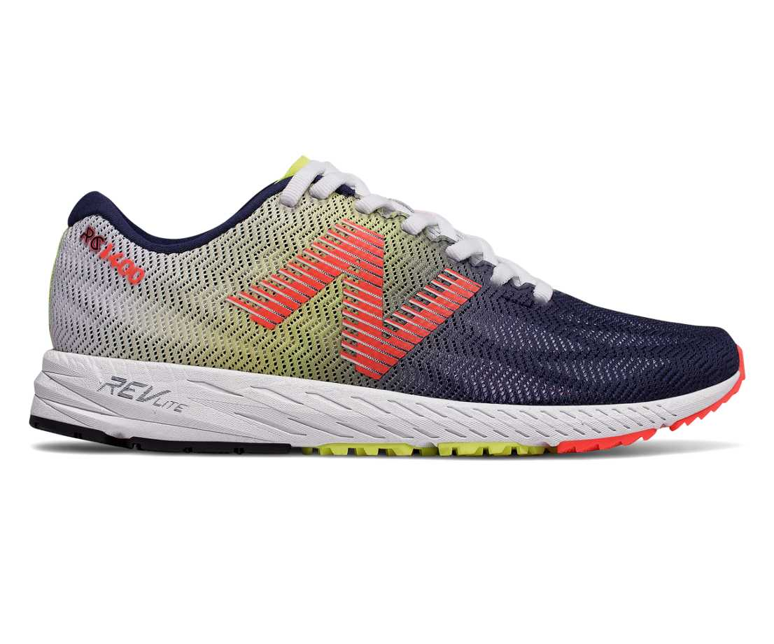 NB 1400v6, White with Pigment & Vivid Coral