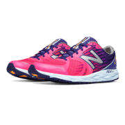 New Balance 1400v4, Pink Zing with Blue
