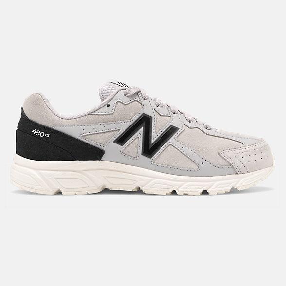 New Balance 480 V5系列女款复古运动鞋, W480SG5