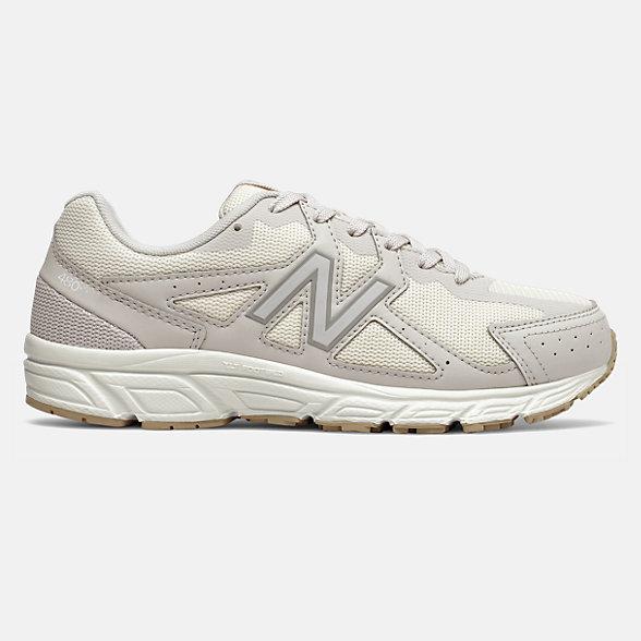 New Balance 480 V5系列女款复古运动鞋, W480ST5